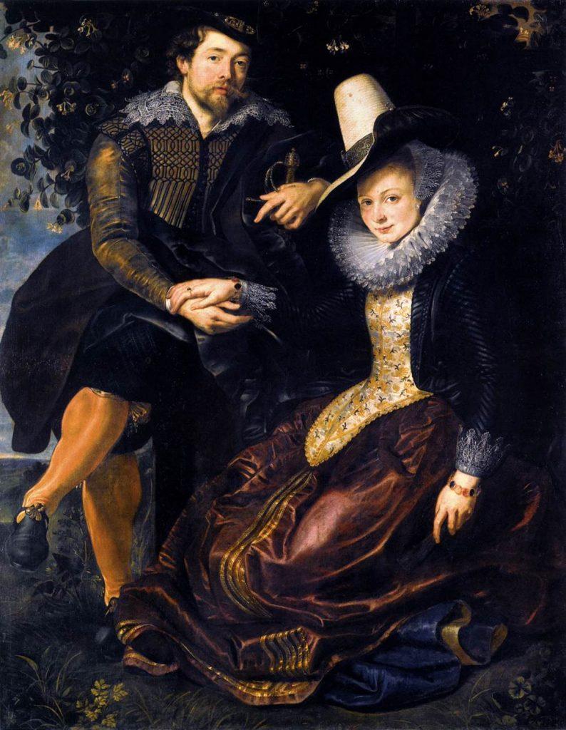 Honeysuckle Bower by Peter Paul Rubens / Wikimedia Commons