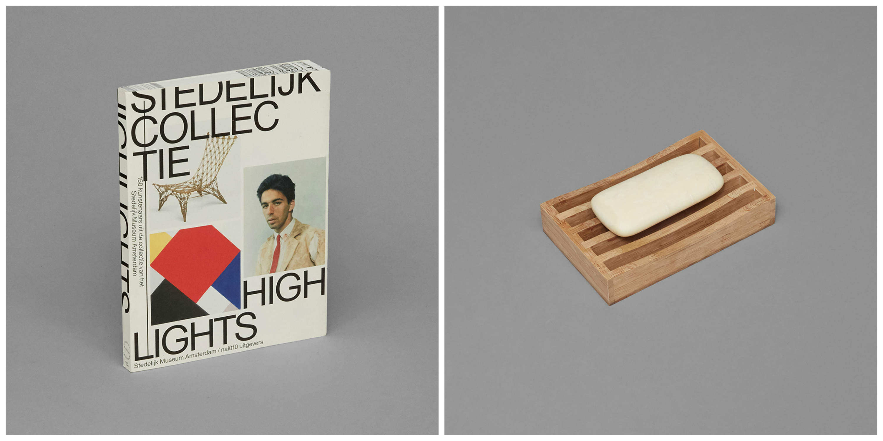 Stedelijk Highlights $20 & Bamboo Soap Dish $3 © The Anonymous Couple