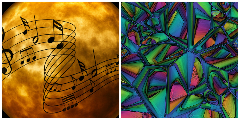 Music © Pixabay and Contemporary Art | © Fotocitizen / Pixabay