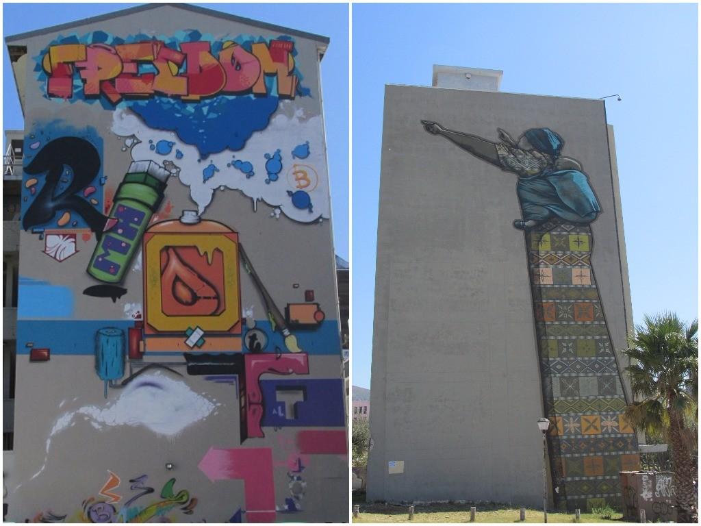 Graffiti in Cape Town © Lee-Shay Collison