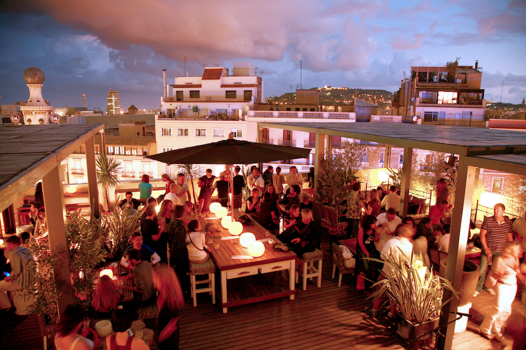The Pulitzer roof terrace | Courtesy of the Pulitzer Hotel