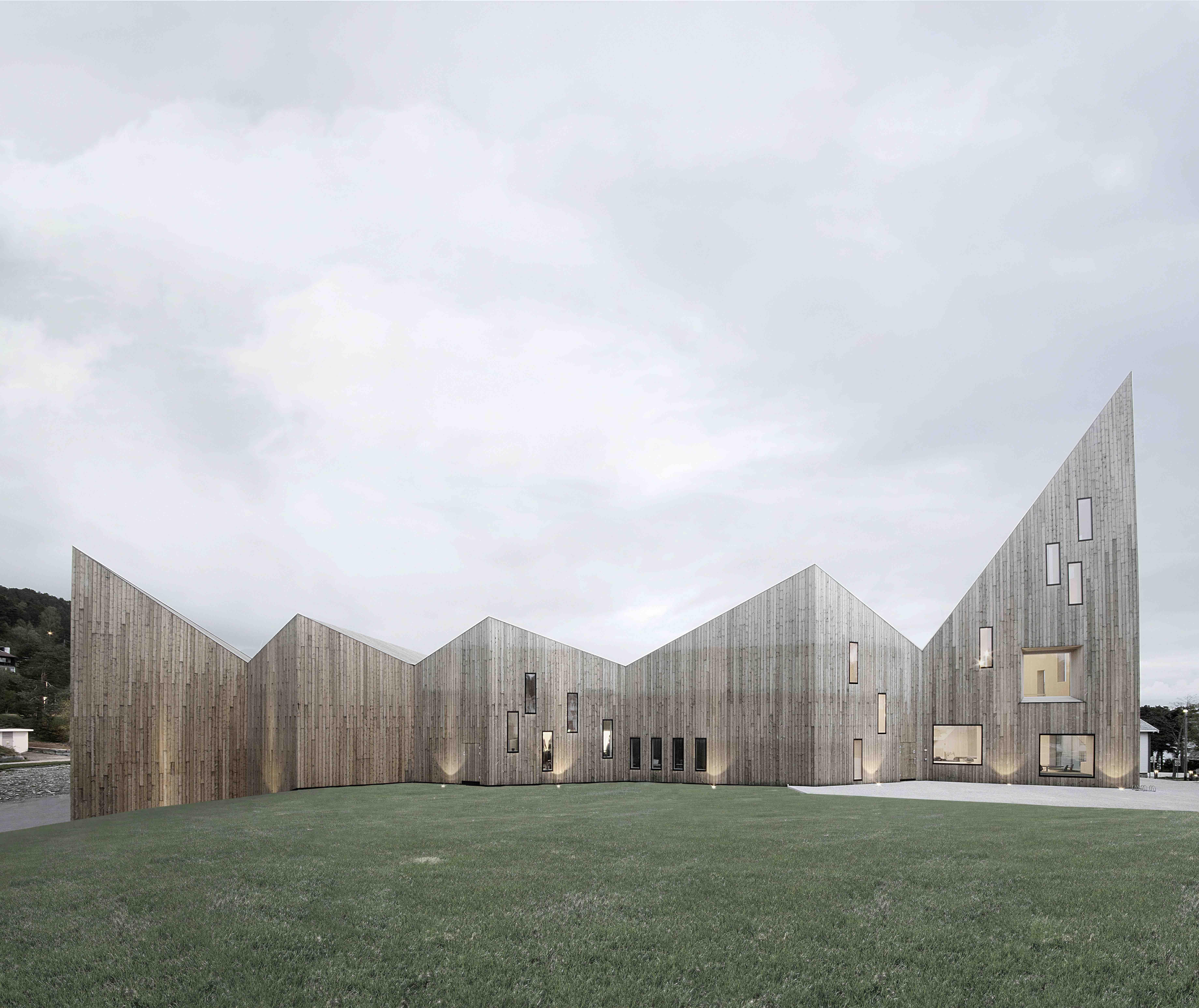 Romsdal Folk Museum S Geometric Design Is Pine Perfection