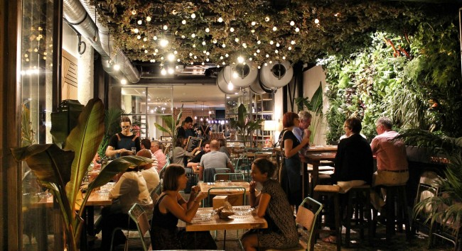 The Terrace at Duo Tapas   Courtesy of Duo Tapas
