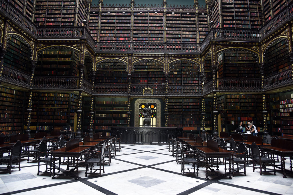 The Royal Portuguese Reading Room |© Alexandre Macieira | Riotur/Flickr