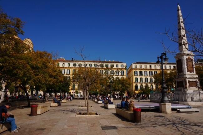 Pablo Picasso was born on Malaga's Plaza Merced in 1881 | © Encarni Novillo