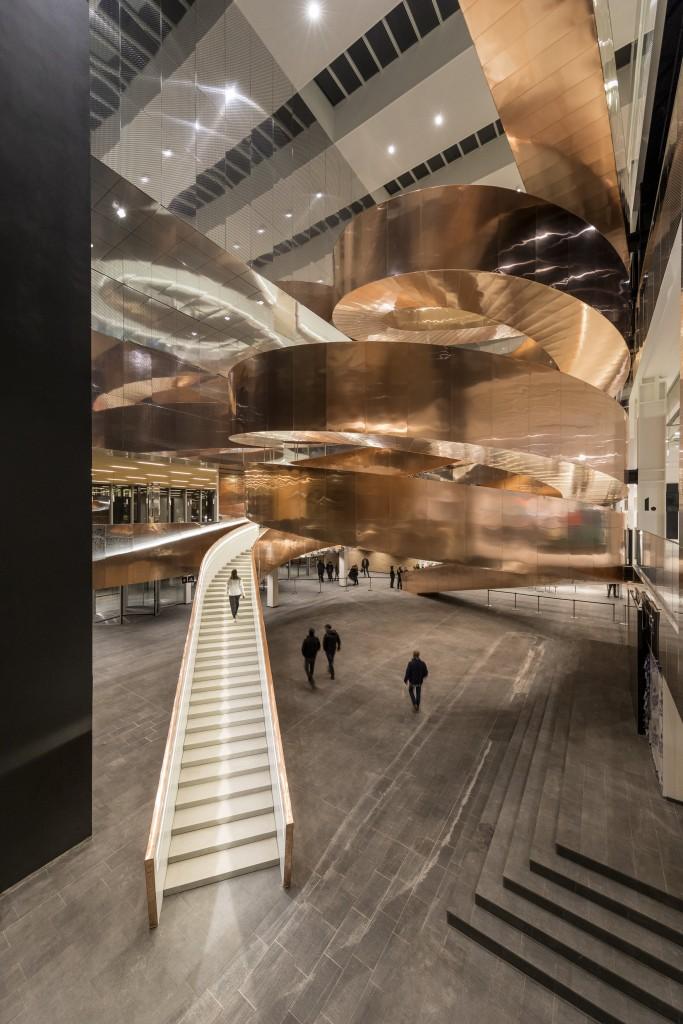 The Helix stairs   © Adam Mørk / Courtesy of Experimentarium