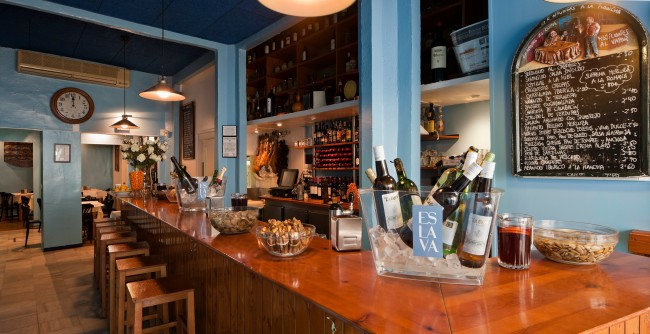 The Bar at Eslava   Courtesy of Eslava