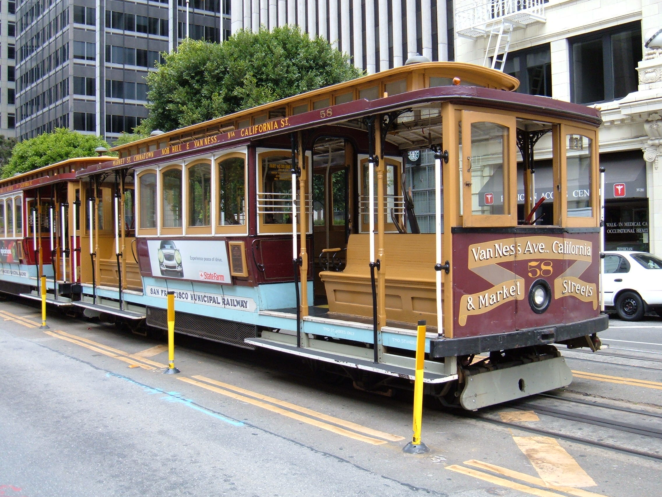 Image result for san francisco cable car