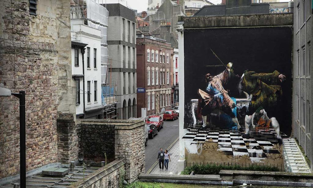 The Duel of Bristol by Conor Harrington | © Ian Cox/Courtesy of Conor Harrington