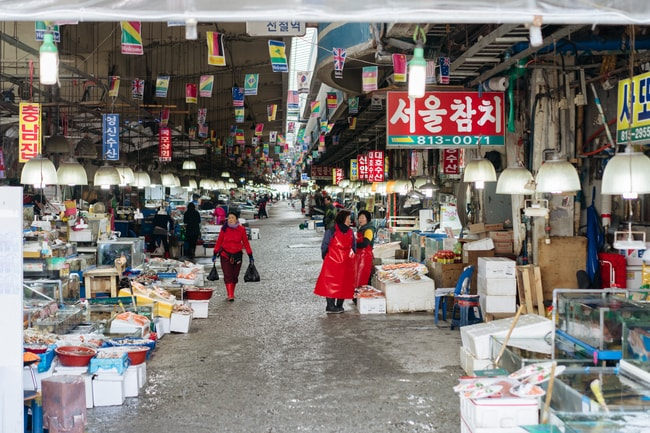NORYANGJIN FISH MARKET-SEOUL MARKETS-SEOUL-SOUTH KOREA