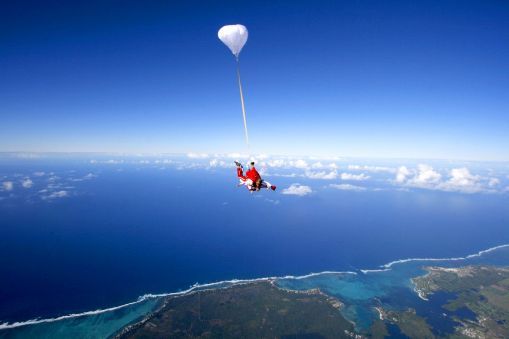 Skydive in Mauritius|© Courtesy of Skydive Mauritius