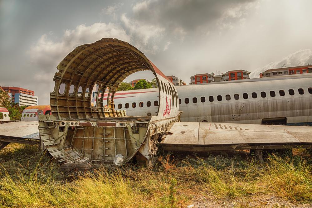 Airplane salvage graveyard in Bangkok | © Dax Ward/Shutterstock