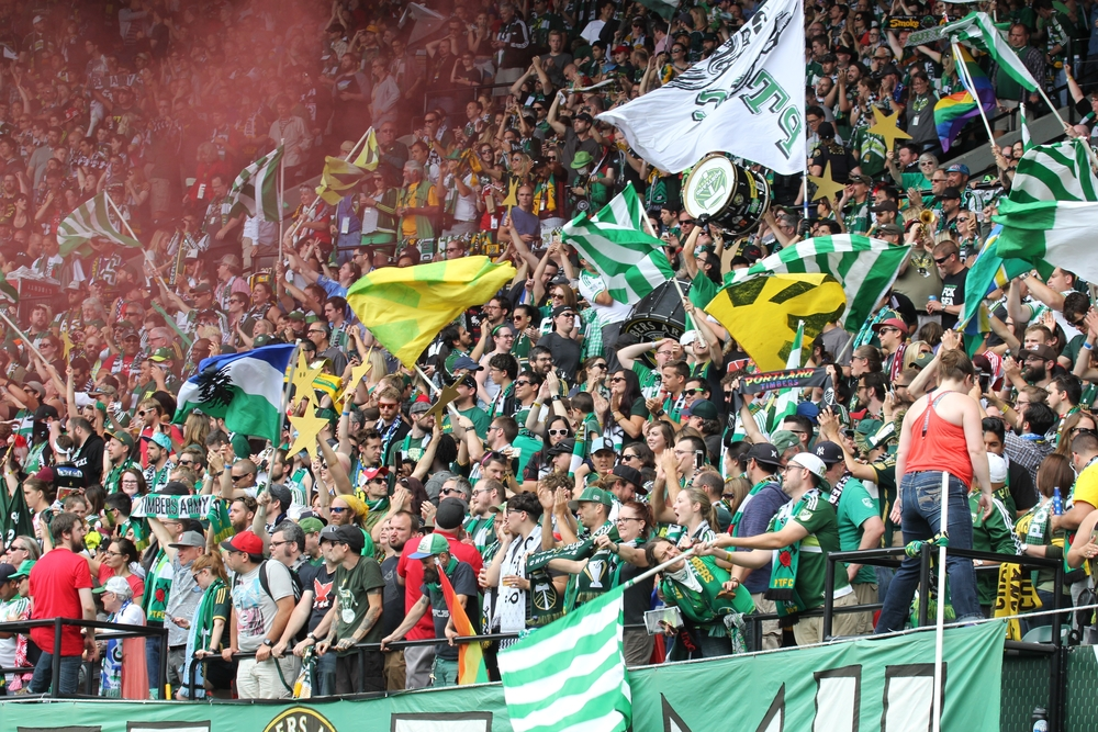 The Timber's Army is the official supporters' group of the Portland Timbers | © Keeton Gale/Shutterstock