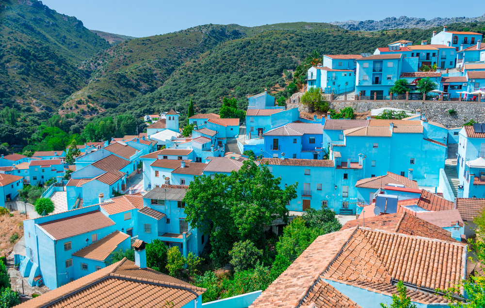 Juzcar the Smurf village| © cineuno/Shutterstock