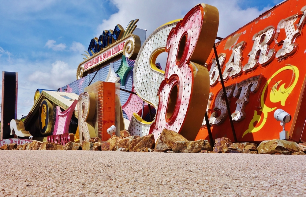 The Neon Boneyard Park is an outdoor museum displaying old retired signs from Las Vegas hotels and casinos | © EQRoy / Shutterstock