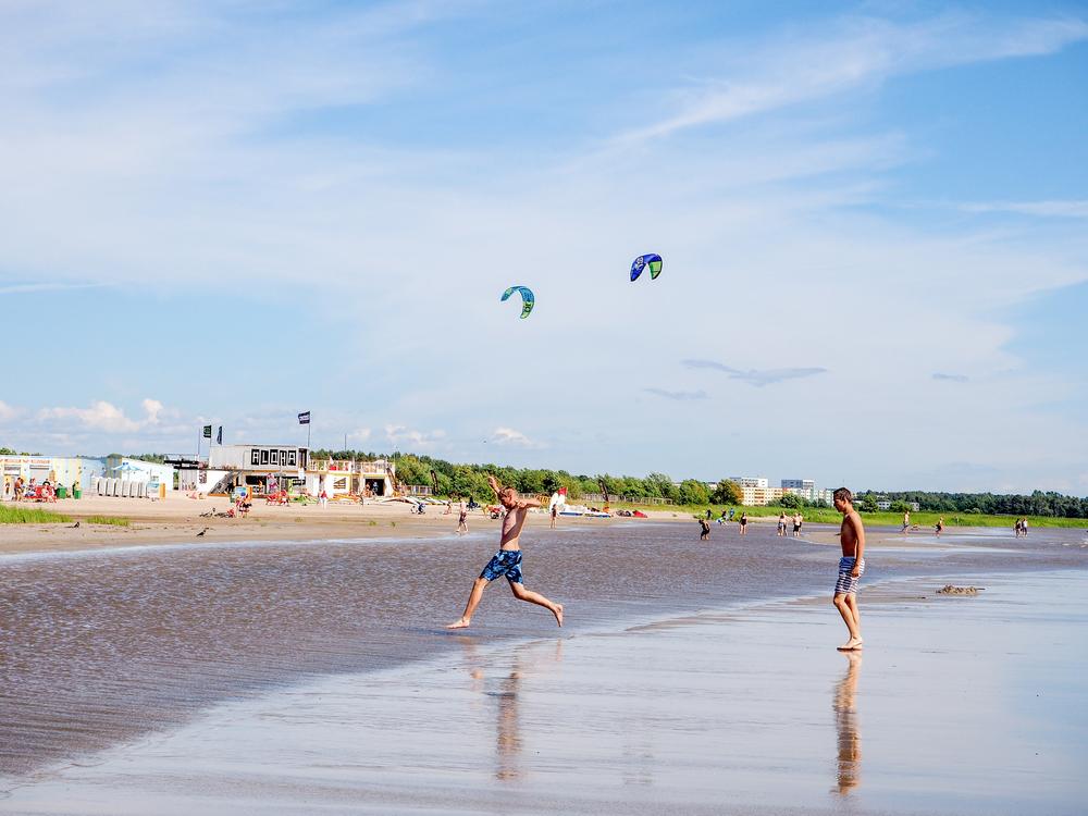 Parnu Beach| ©Aleksei Zhludov/Shutterstock