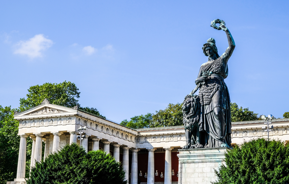 Statue of Bavaria at the Theresienwiese in Munich| © FooTToo/Shutterstock