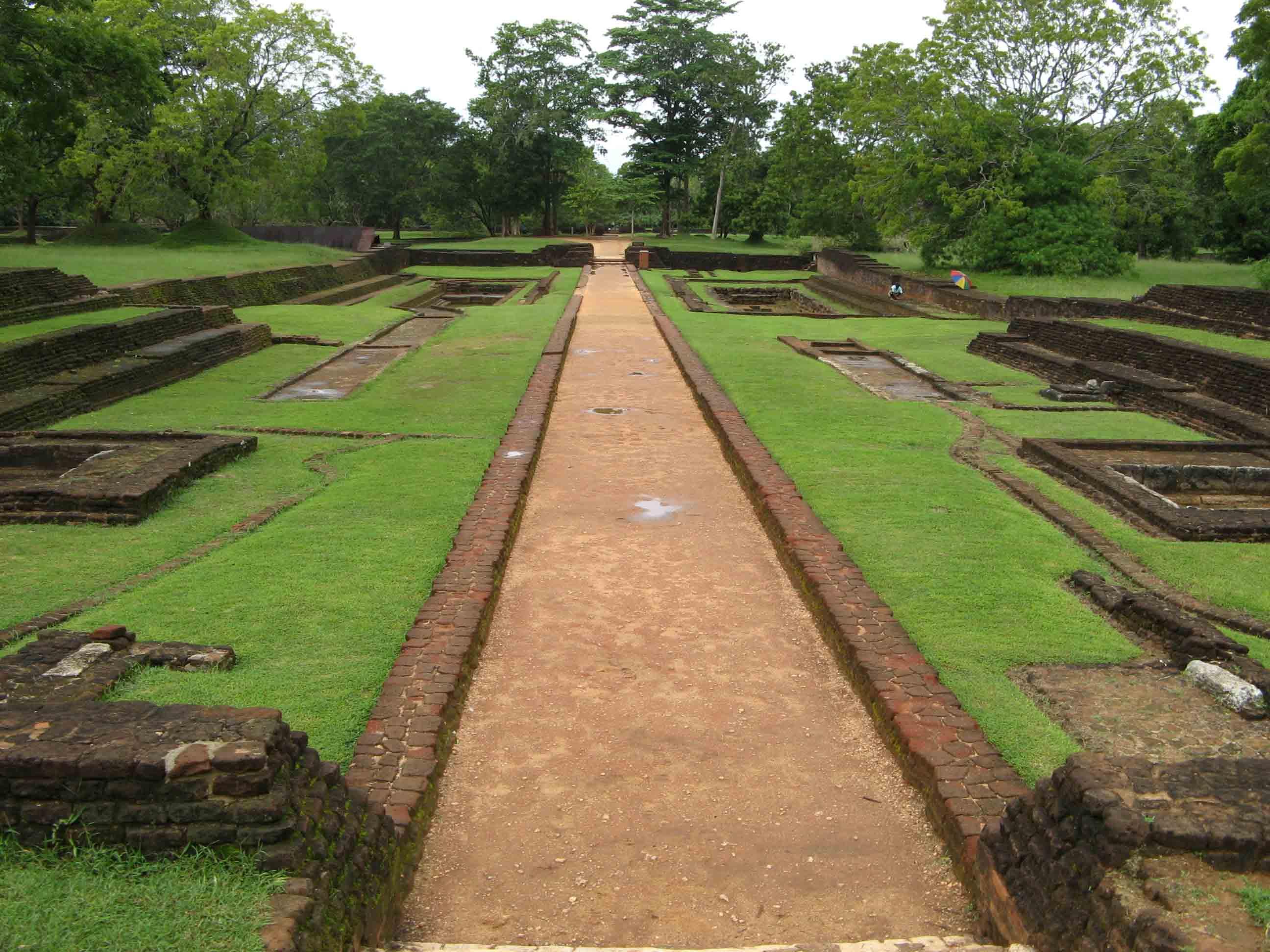 Sigiriya Gardens| © Michael Gunther/WikiCommons