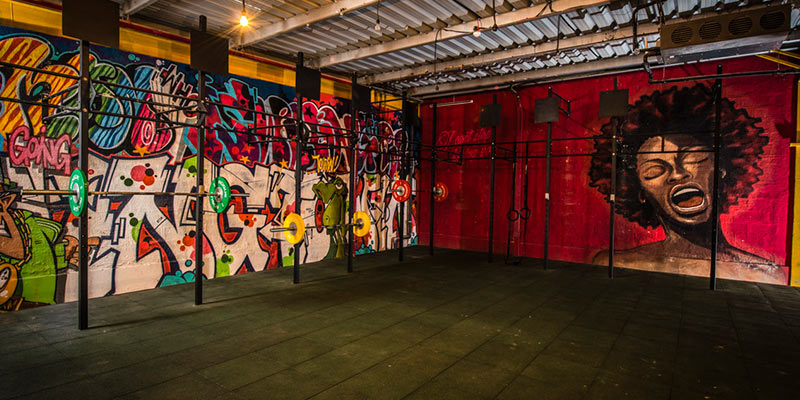 Gym Interior | © Courtesy of Warehouse Gym