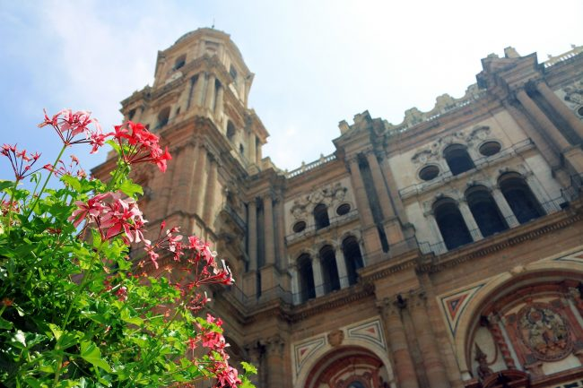 "<a href=""https://pixabay.com/p-398965/?no_redirect""> Facade of Málaga cathedral   © Jeshoots/Pixabay</a>"