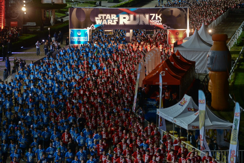 Star Wars Run 2015 - Buenos Aires | Courtesy of Asia PR Werkz and Esprimo