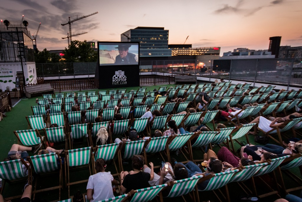 Stratford, Roof East | Courtesy of Rooftop Film Club