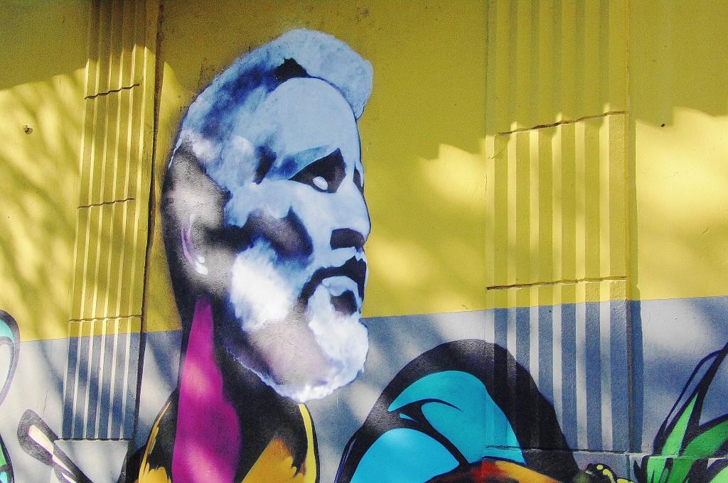 Street art of Ismael Rivera   © Angel Xavier Viera-Vargas/ Flickr