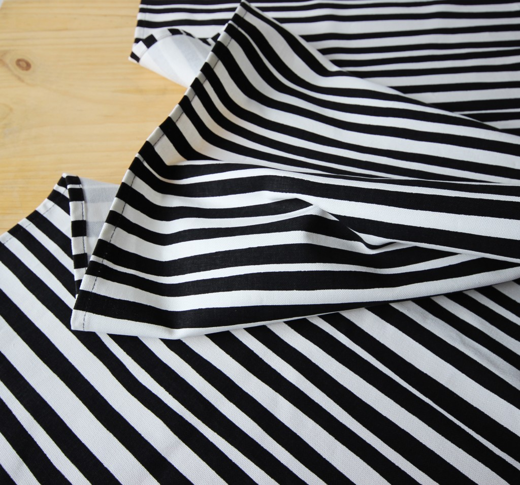 Stripe fabric © Courtesy of Love Milo