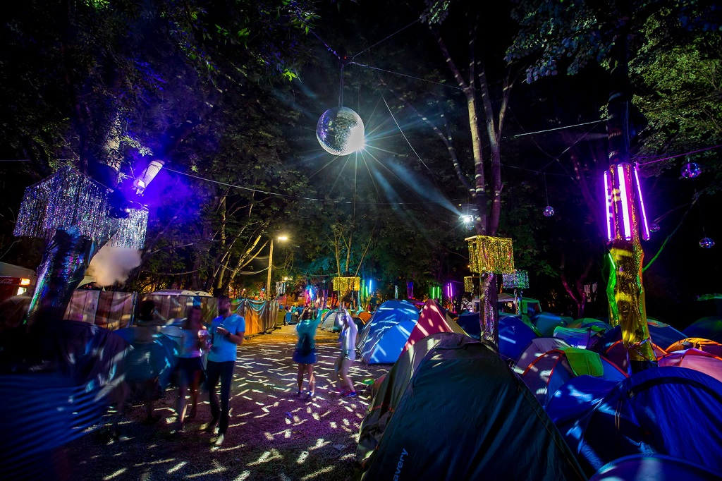 Sziget Festival camping