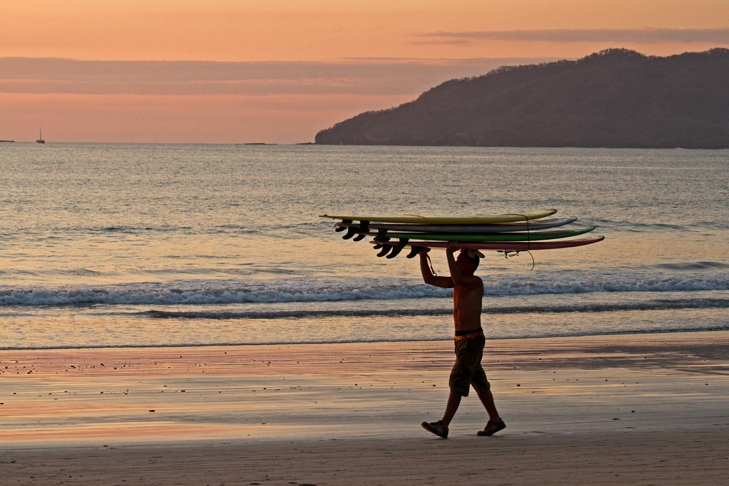 Sunsets, surfing, and so much fun to be had here| © JarleNaustvik/Flickr