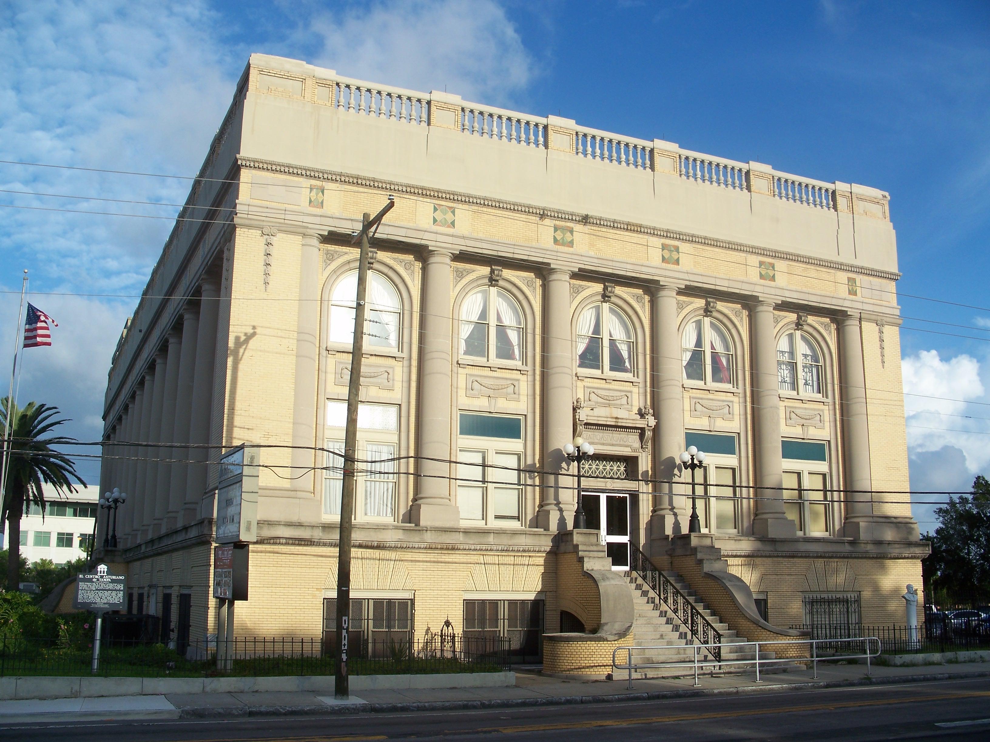 El Centro Asturiano de Tampa, Wiki Images