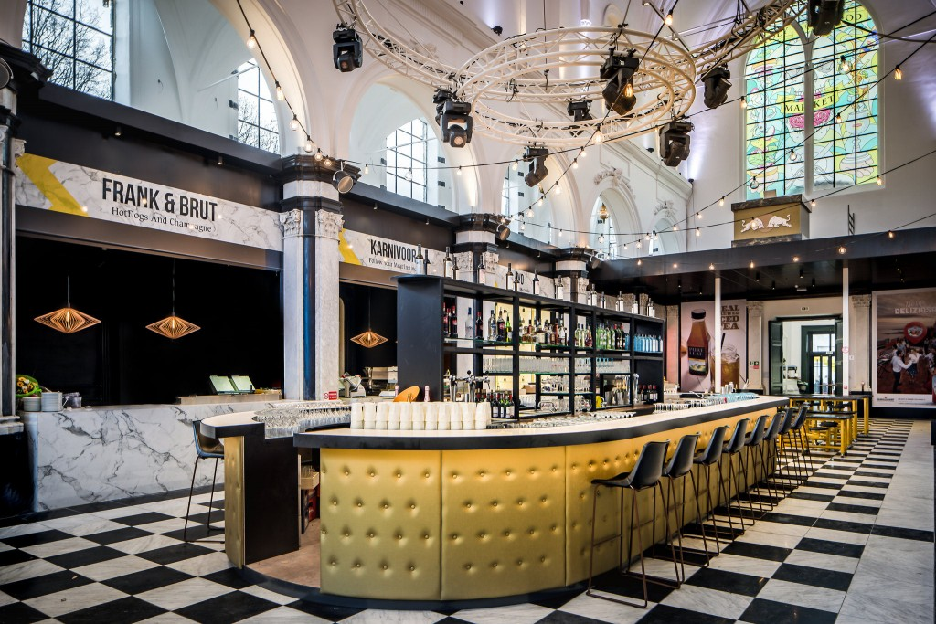 Ghent's new Holy Food Market, a 16th-century chapel turned food temple | © Peter Baas / courtesy of Visit Gent
