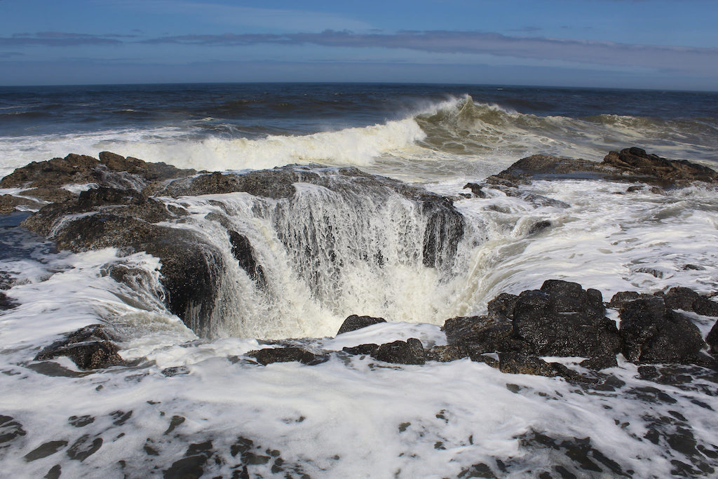 Thor's Well|©Mark Gunn/Flickr