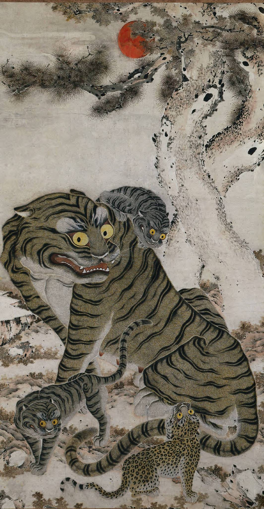 Tigers in Korean art | © Cherubino