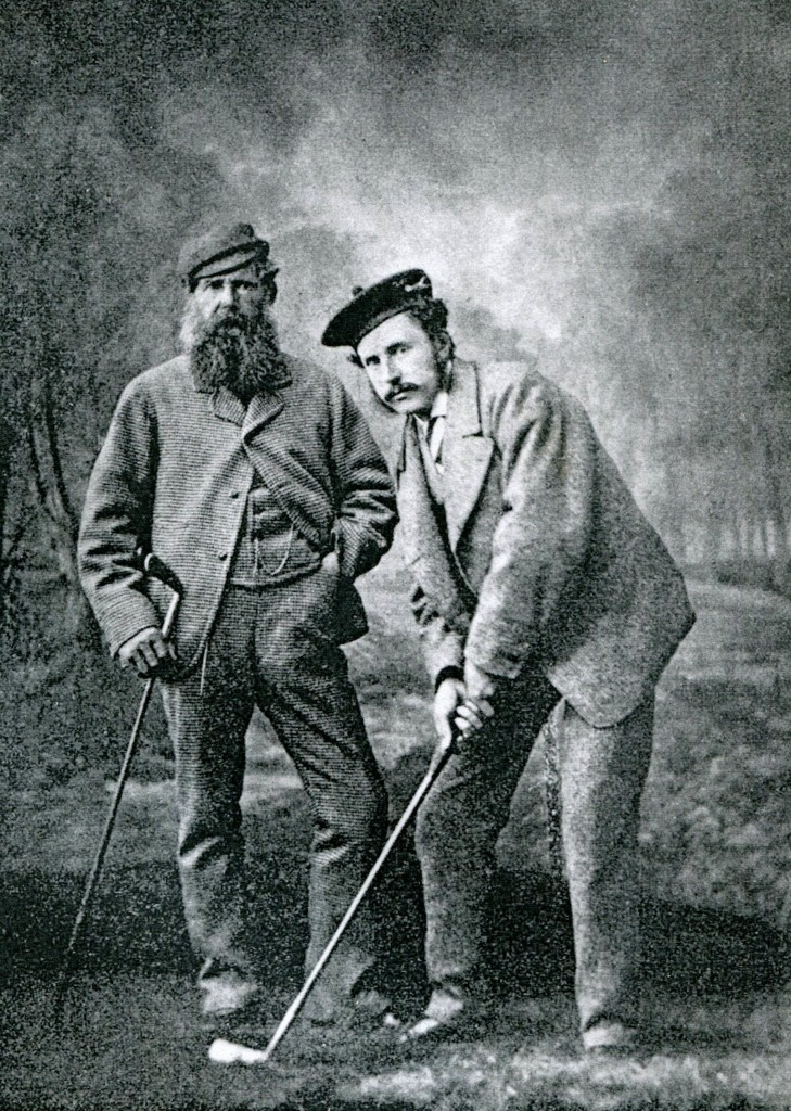 Old Tom Morris and Young Tom Morris | Wikipedia Commons