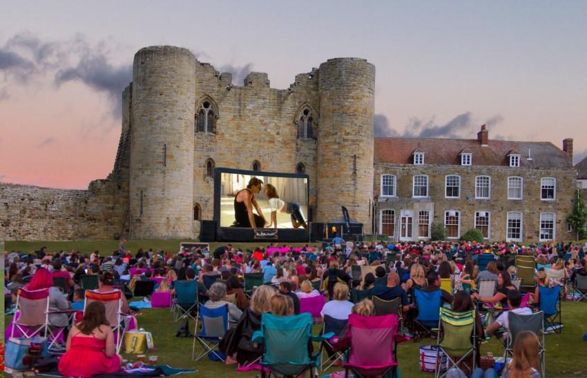 Tunbridge Castle | © Riot Communications/Luna Cinema