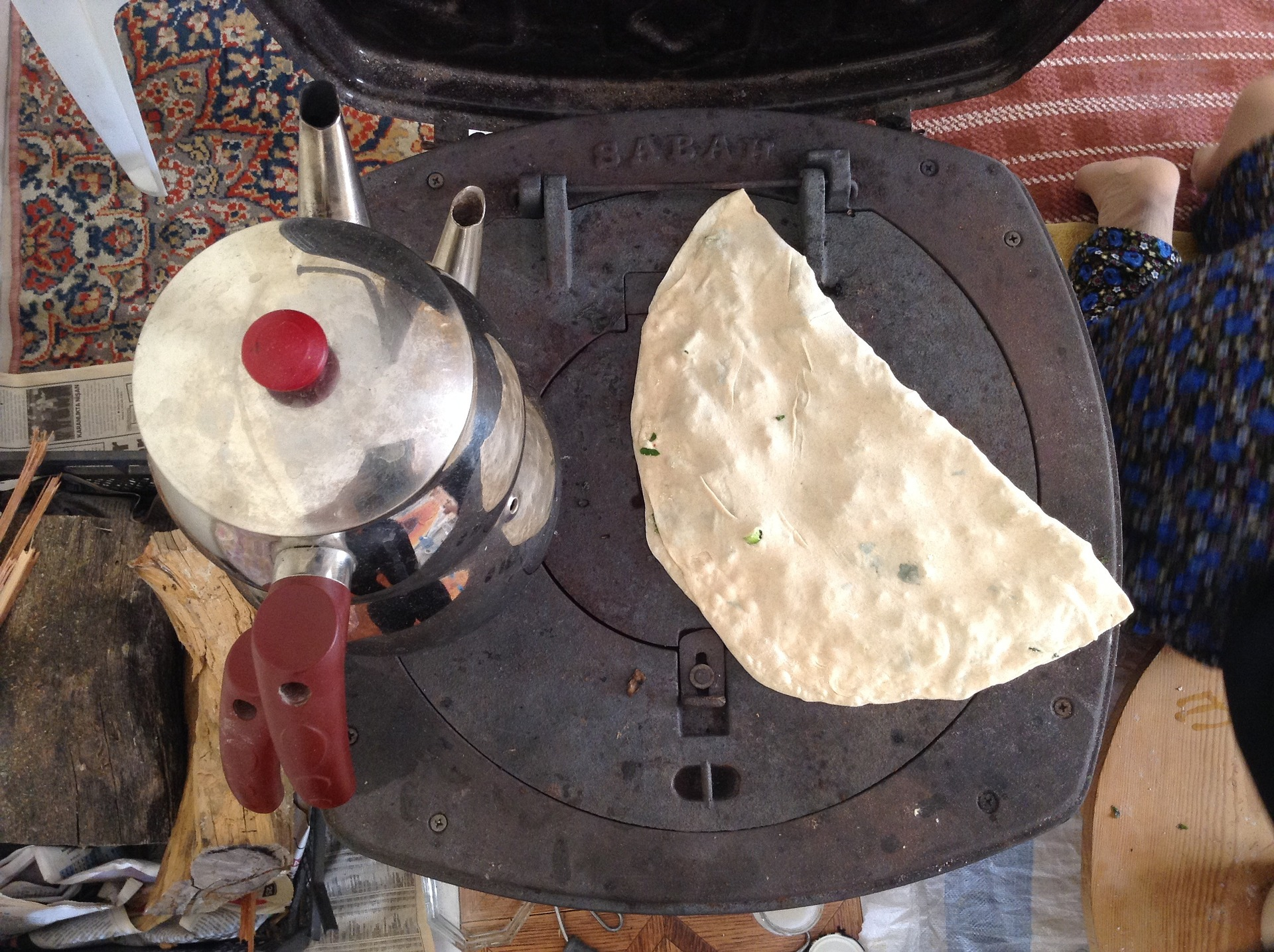 Gozleme is a Turkish snack cooked on a hot griddle | Pixabay