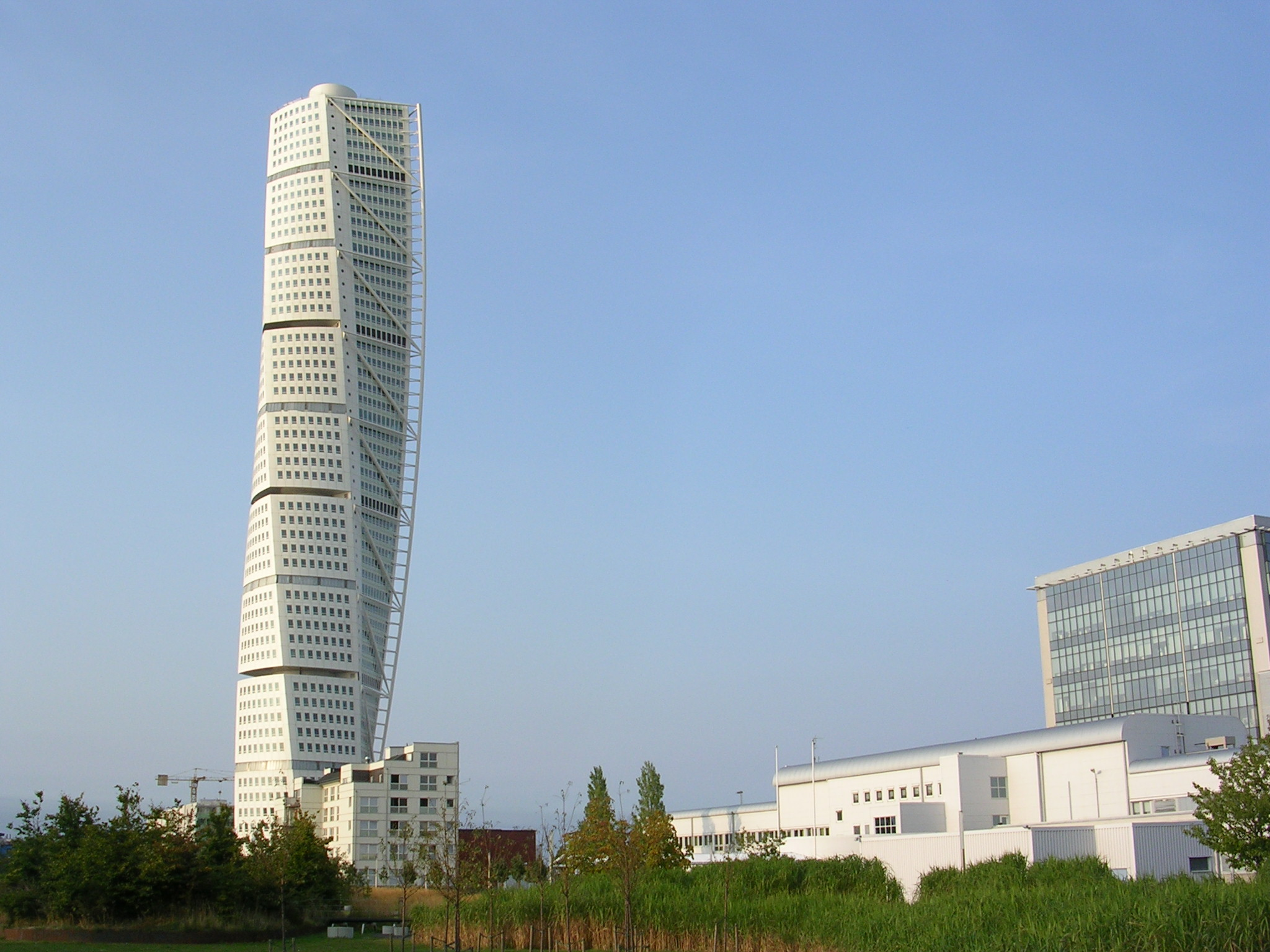 The Story Behind Malmo S Turning Torso The World S First