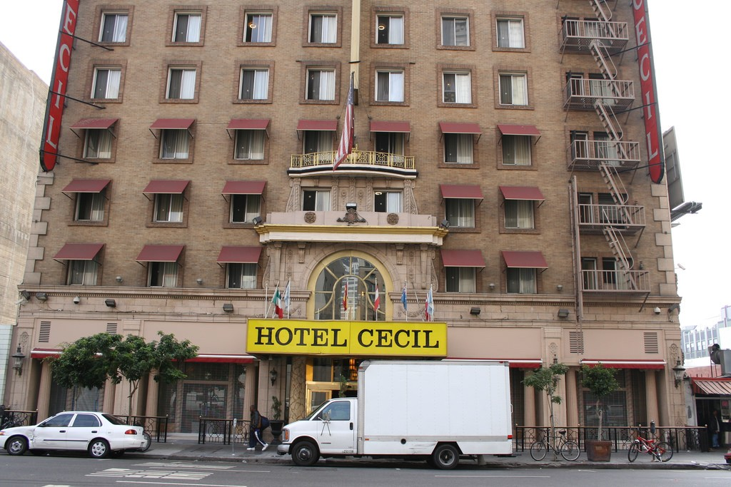 Hotel Cecil|©Jim Winstead/Flickr