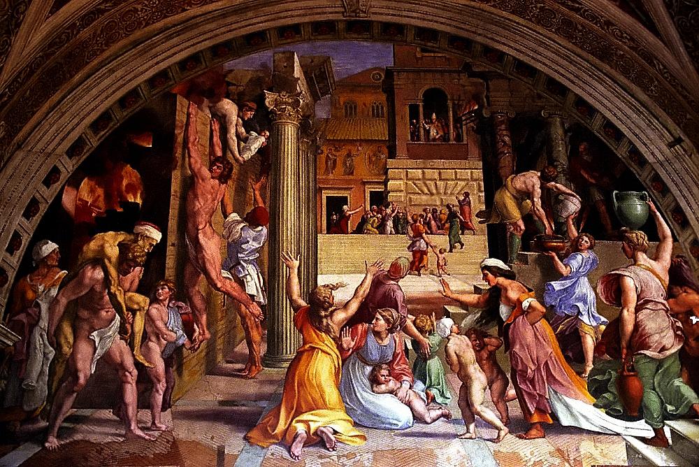 Vatican Museum Raphael - The Burning of the Borgo©DavidOhmer:Flickr