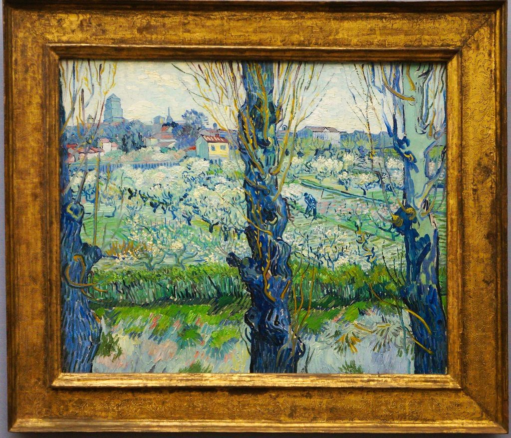 View of Arles, Flowering Orchards by Vincent Van Gogh | Pierre André / Wikimedia Commons