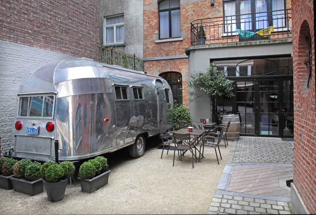 A spot of urban 'glamping' at Brussels' Vintage Hotel | courtesy of Vintage Hotel