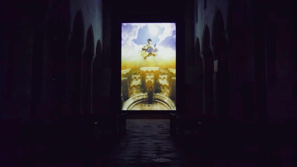 'Spite Your Face' Playing In Chiesa di Santa Caterina | Courtesy Of Rachel Maclean