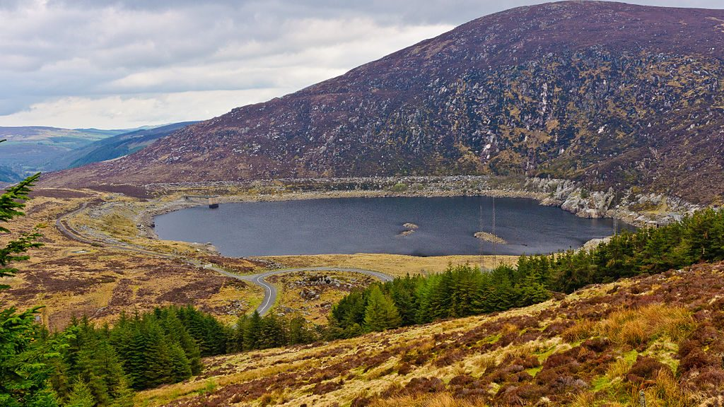 Lough Nahanagan, a corrie lake near the Wicklow Gap, County Wicklow | © Joe King/WikiCommons