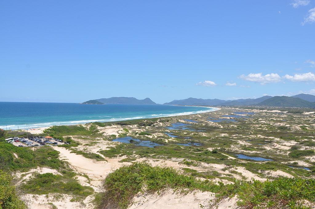 Praia da Joaquina  ©Mike Vondran/WikiCommons