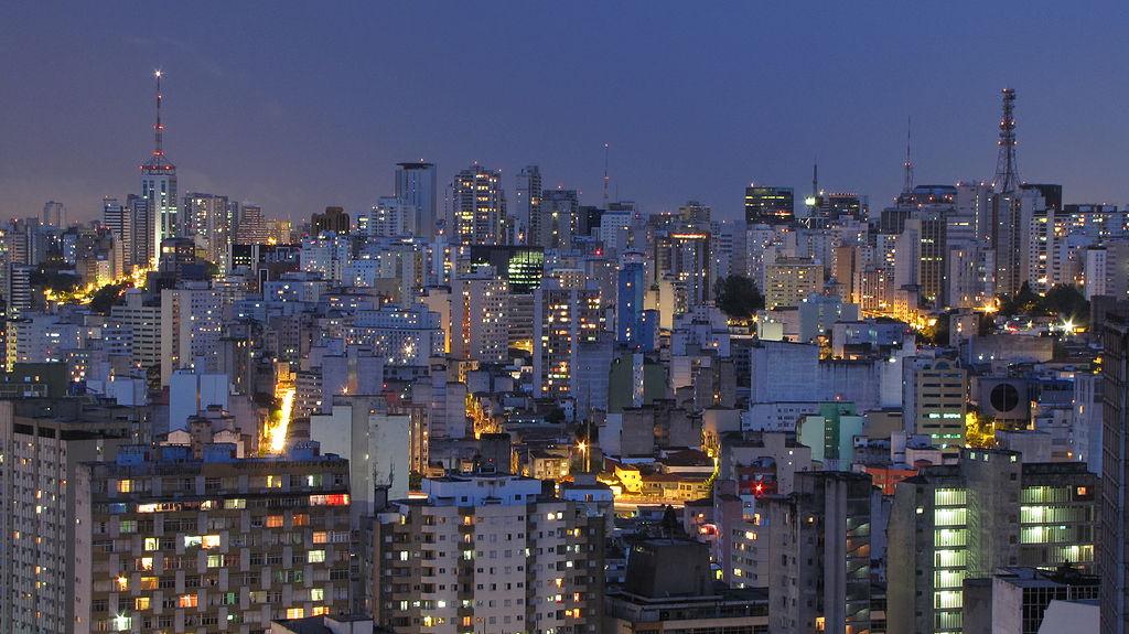 São Paulo skyline  ©Júlio Boaro/WikiCommons