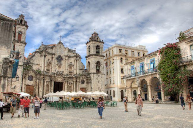 "<a href=""https://www.flickr.com/photos/kucinski/10548520375/"">Havana Cathedral, Old Havana | © Ben Kucinski/Flickr</a>"