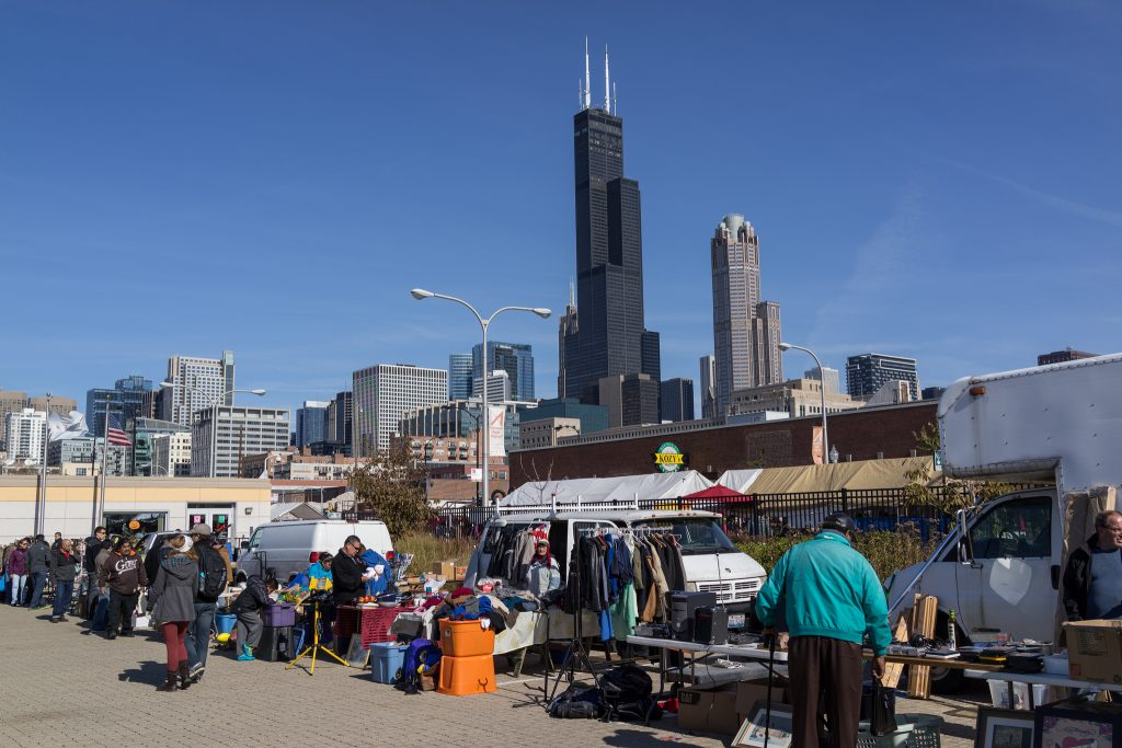 Maxwell Street Market | © Edsel Little/Flickr