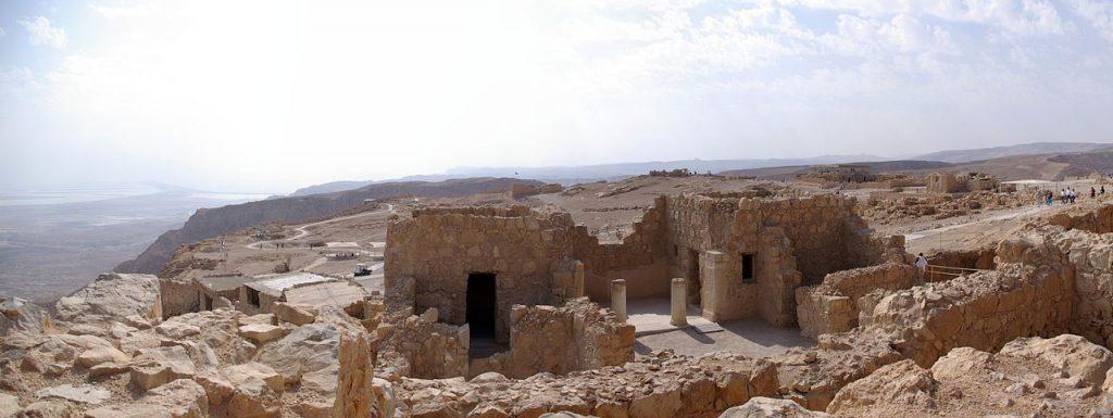At the top of Masada | Berthold Werner / Wikimedia Commons