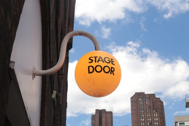 Stage Door at Old Vic